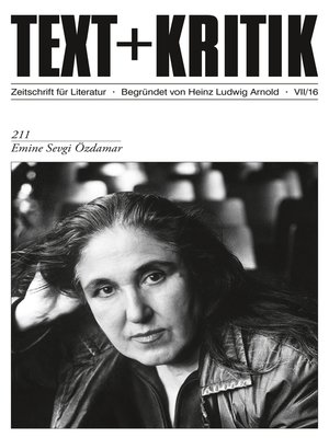 cover image of TEXT+KRITIK 211