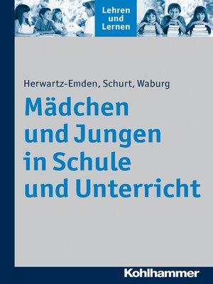 cover image of Mädchen und Jungen in Schule und Unterricht