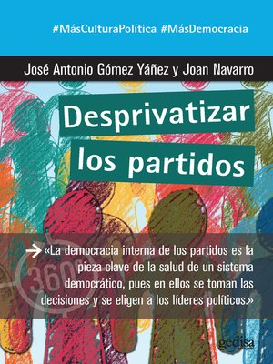 cover image of Desprivatizar los partidos
