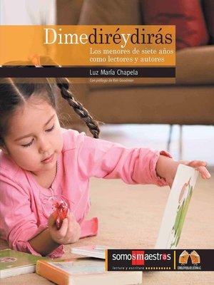 cover image of Dime diré y dirás