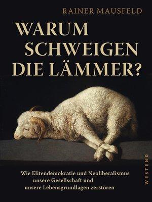 cover image of Warum schweigen die Lämmer?