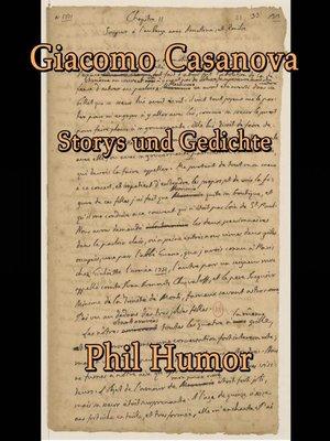 cover image of Giacomo Casanova