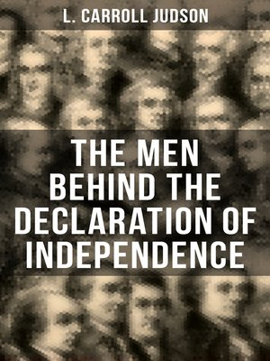 cover image of The Men Behind the Declaration of Independence