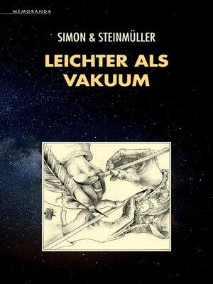 cover image of Leichter als Vakuum