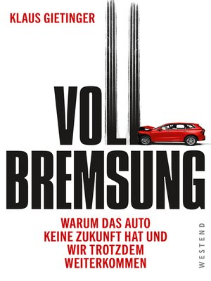 cover image of Vollbremsung