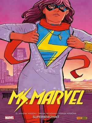 cover image of Ms. Marvel (2016) 1--Superberühmt