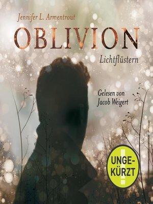 cover image of Oblivion 1. Lichtflüstern