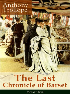 cover image of The Last Chronicle of Barset (Unabridged)
