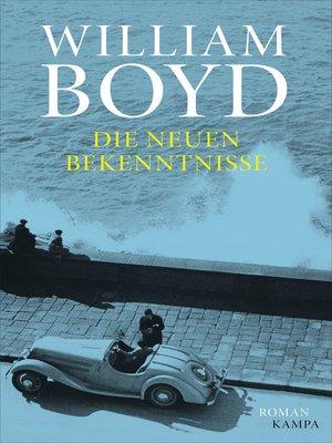 cover image of Die neuen Bekenntnisse