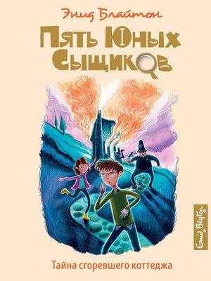 cover image of Тайна сгоревшего коттеджа