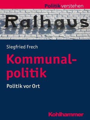 cover image of Kommunalpolitik