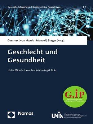 cover image of Geschlecht und Gesundheit
