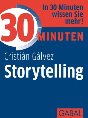 cover image of 30 Minuten Storytelling