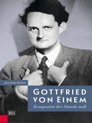 cover image of Gottfried von Einem