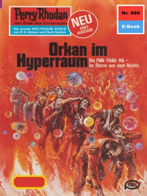 cover image of Perry Rhodan 899