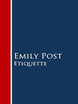 cover image of Etiquette
