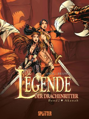 cover image of Die Legende der Drachenritter. Band 2