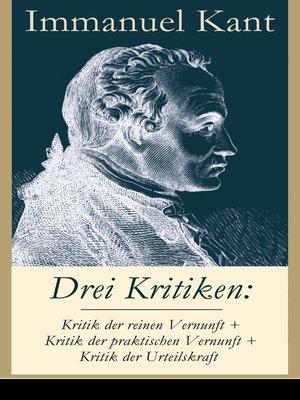 cover image of Drei Kritiken