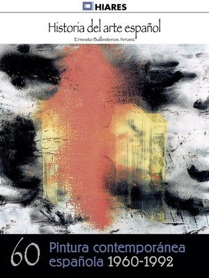 cover image of Pintura española contemporánea (1960--1992)