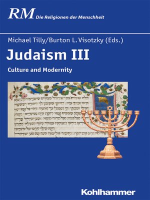 cover image of Judaism III