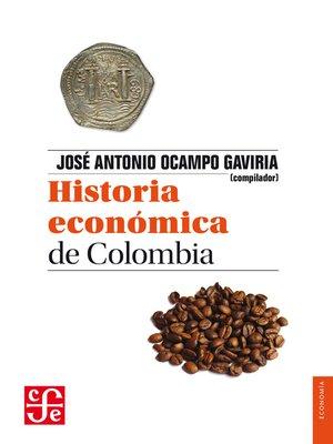 cover image of Historia económica de Colombia