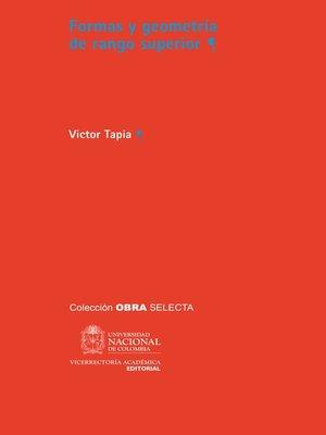 cover image of Formas y geometría de rango superior