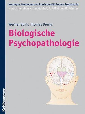 cover image of Biologische Psychopathologie