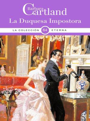 cover image of La Duquesa Impostora