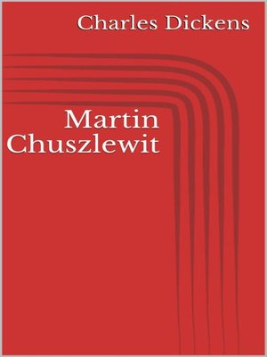 cover image of Martin Chuszlewit