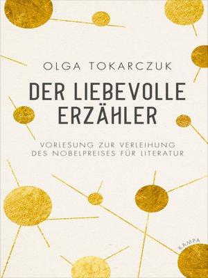 cover image of Der liebevolle Erzähler