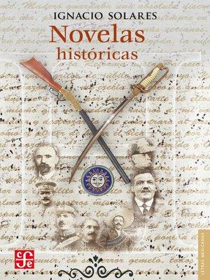 cover image of Novelas históricas