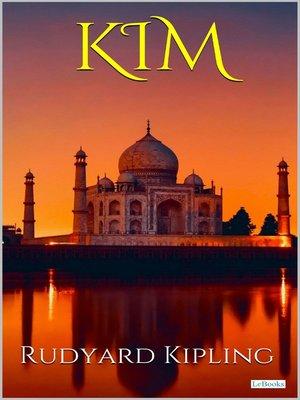 cover image of KIM--Rudyard Kipling