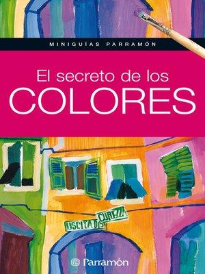 cover image of El secreto de los colores