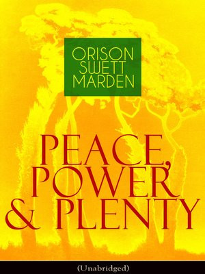 cover image of Peace, Power & Plenty (Unabridged)