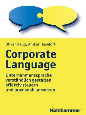 cover image of Corporate Language