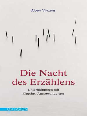 cover image of Die Nacht des Erzählens