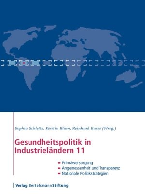 cover image of Gesundheitspolitik in Industrieländern 11