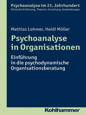 cover image of Psychoanalyse in Organisationen