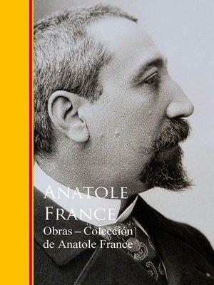 cover image of Obras--Coleccion de Anatole France