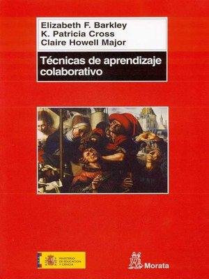 cover image of Técnicas de aprendizaje colaborativo