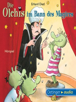 cover image of Die Olchis im Bann des Magiers