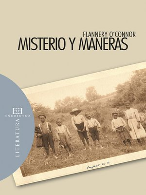 cover image of Misterio y maneras