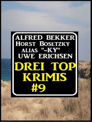 cover image of Drei Top Krimis #9
