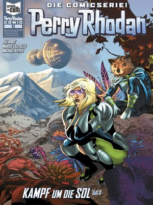 cover image of Perry Rhodan Comic 6
