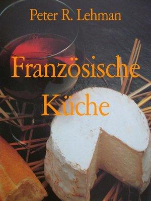 cover image of Französische Küche