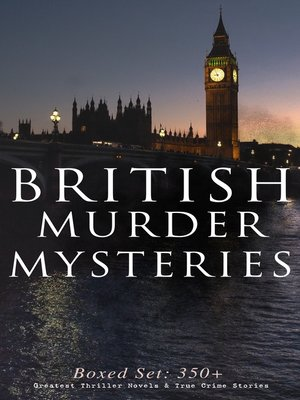 cover image of BRITISH MURDER MYSTERIES--Boxed Set