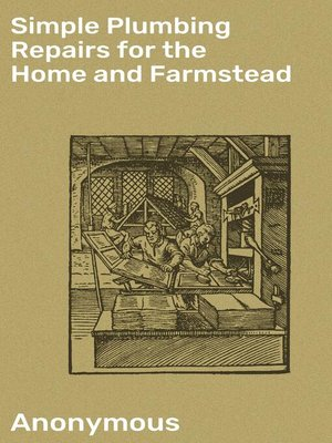 cover image of Simple Plumbing Repairs for the Home and Farmstead