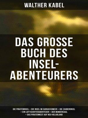 cover image of Das große Buch des Insel-Abenteurers