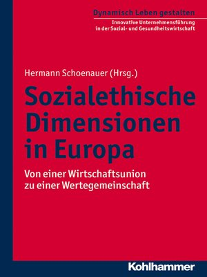 cover image of Sozialethische Dimensionen in Europa