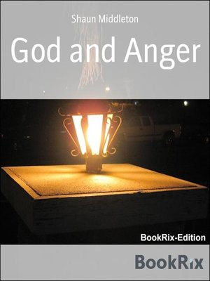 cover image of God and Anger
